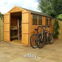Wooden Garden Shed 10x6 Outdoor Garden Storage Building Apex Roof 10ft 6ft
