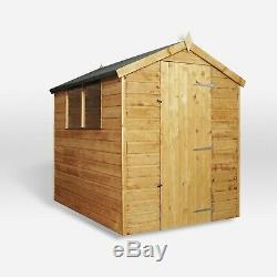 Wooden Garden Shed 7x5 Outdoor Storage Shiplap Building Windows 7ft 5ft