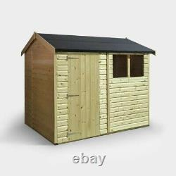 Wooden Garden Shed 8x6, T&G Roof and Floor