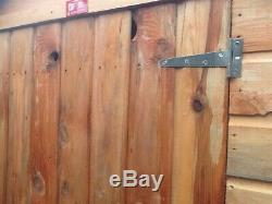 Wooden Garden Shed Fully T&G 7x5 Apex Roof Cheap b-grade shed or turn buttons