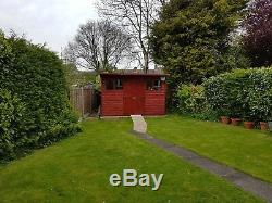Wooden Garden Shed / Summer House 12ft x 10ft