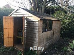 Wooden garden shed 10 x 8