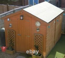 Wooden garden shed 10' x 8