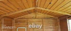 Wooden garden shed used approx 8feet x 10feet