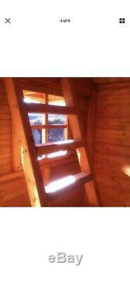 Wooden playhouse Two story used Childrens Wendy House Garden Shed