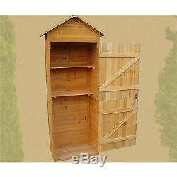 XL Wooden Tool Shed Garden Shed