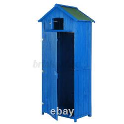 XXL Wooden Garden Shed Outdoor Tool Storage Cabinet Durable House Room Hut 6FT